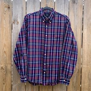 Jack Spade   Button Down Plaid Shirt Size L